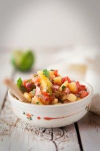 Mango Salsa - Composing Food Photography We eat together
