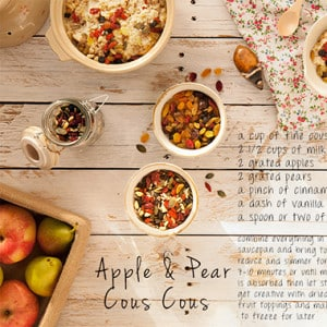 Apple & Pear Cous Cous Recipe