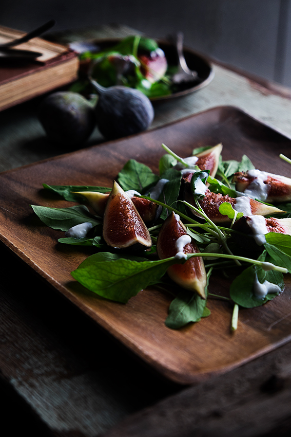Fresh Fig Salad Recipe