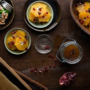 Clementine Dessert with Mulled Apple Cider Recipe