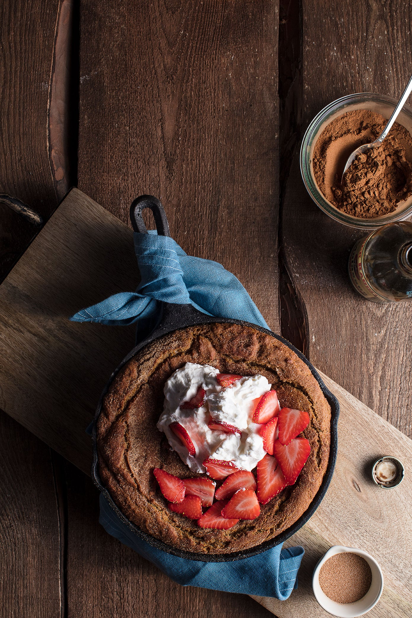 Valentines Day Brandy Strawberry Gingersnap Shortcake With Brandy Whip Cream Recipe
