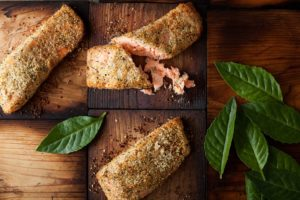 Salmon On Cedar Planks