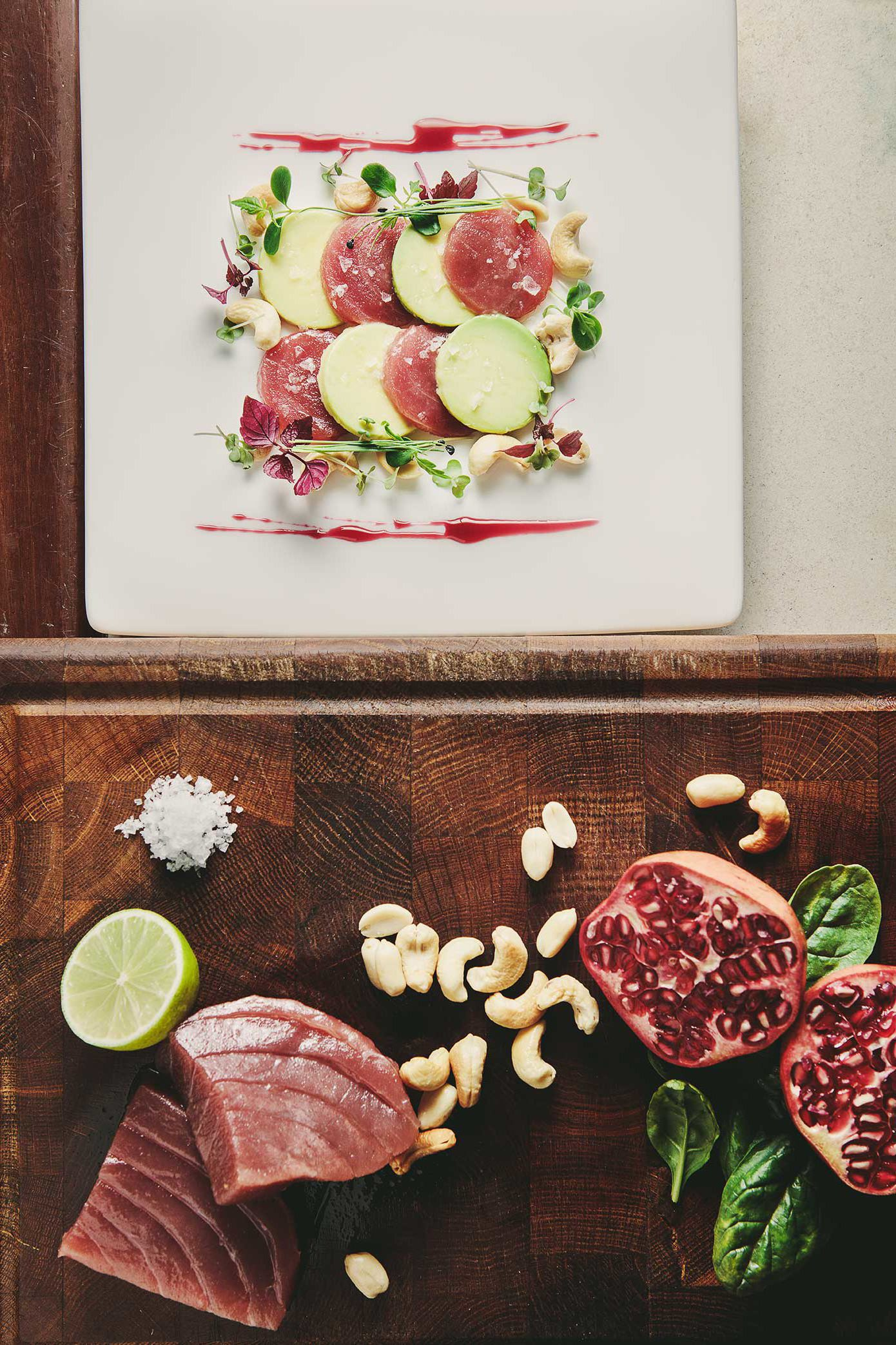 Fresh Tuna And Avocado Food Photography We Eat Together