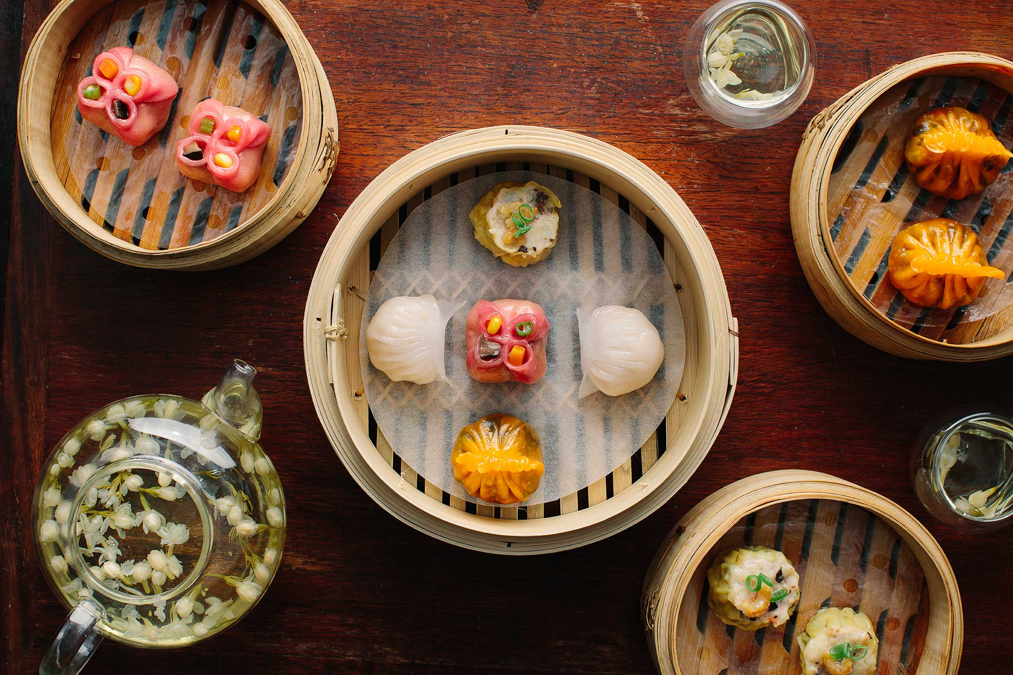Dim Sum At The Al Bustan Palace Ritz Carlton Food Photography We Eat Together