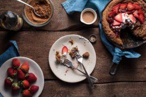 Strawberry Gingerdoodle Shortcake