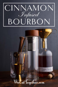 1pt Infusion Kit Homemade Cinnamon Bourbon