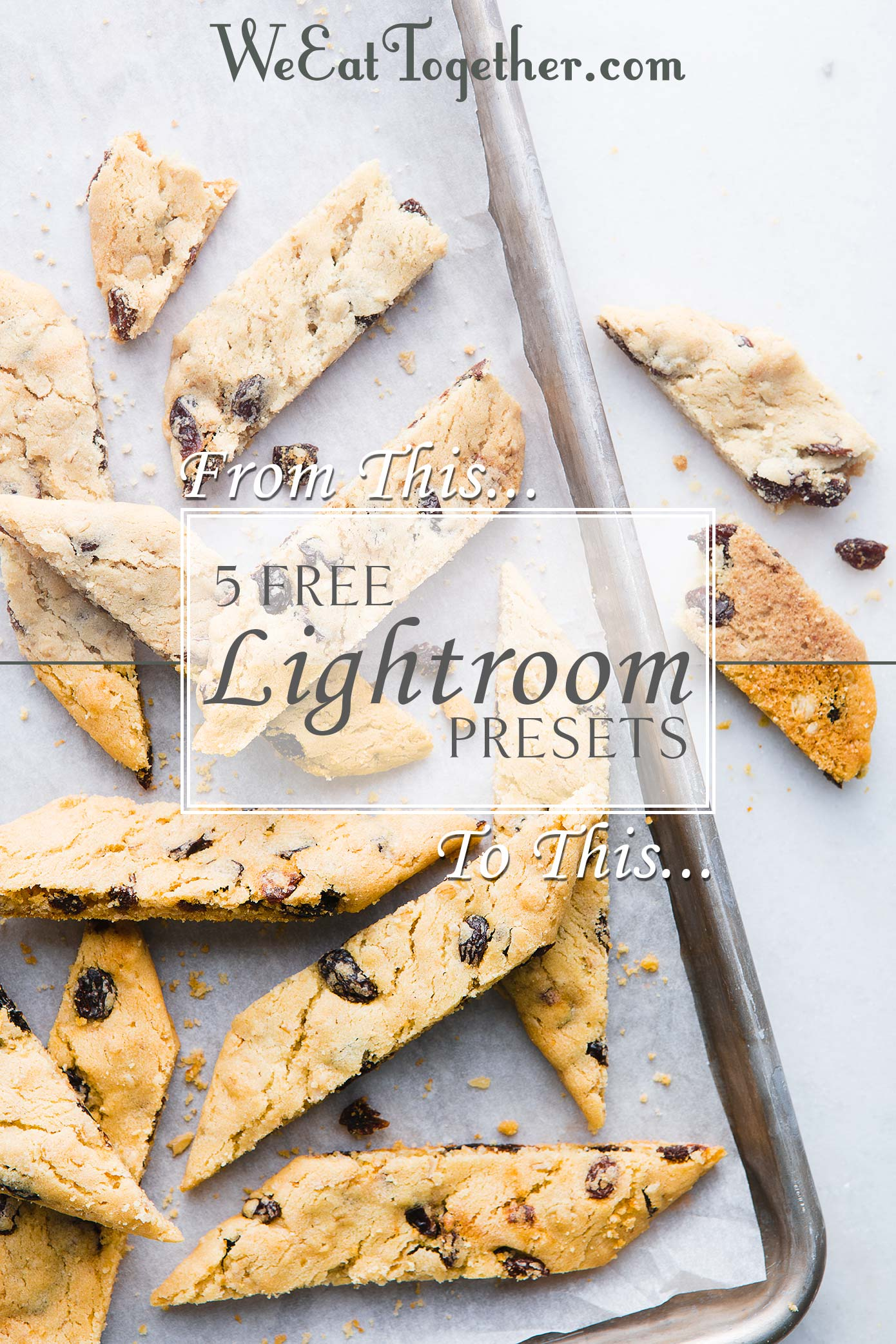 5 Free Lightroom Presets For Food Photography