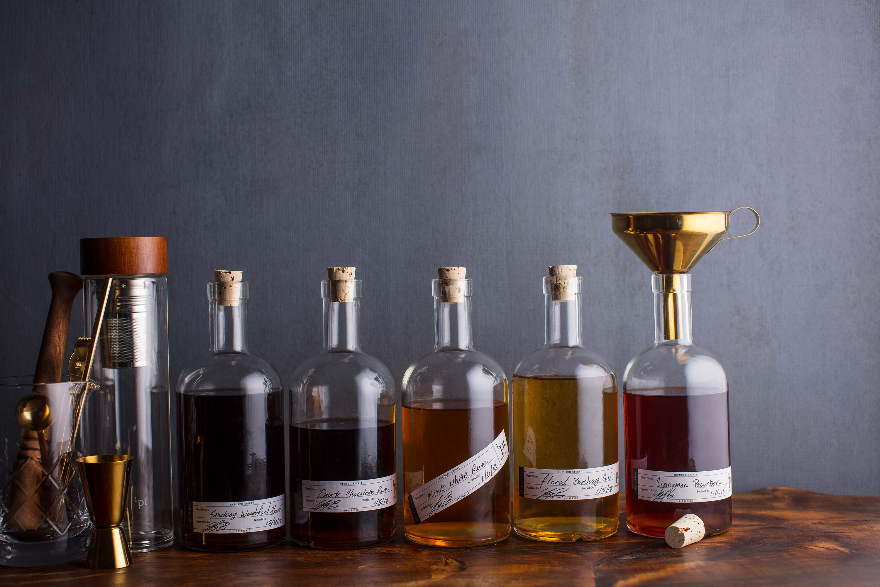 Beverage Photography And Infusing Booze