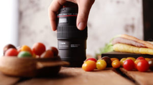 Canon 100mm Food Photography Lens
