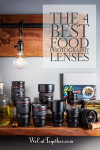 The Top 4 Best Food Photography Lens