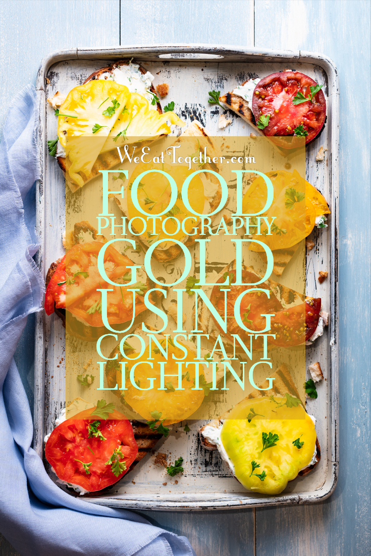Learn How To Use Constant Lights for Food Photography with the Godox SLB60 LED Light