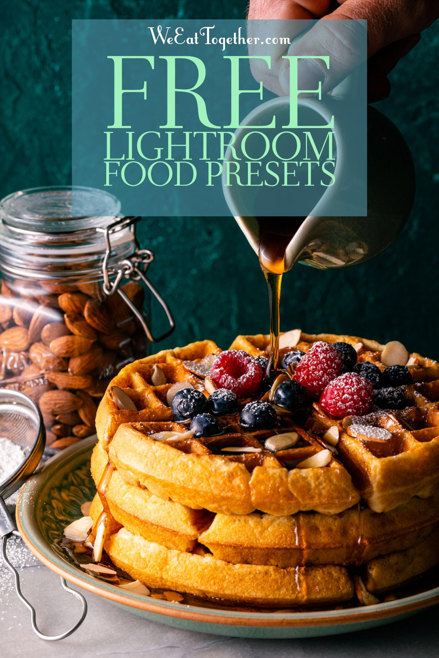 5 amazing free Lightroom presets for food photography! Plus there are 35 more you can get to make editing quick and beautiful. Perfect for food bloggers and Instagram!