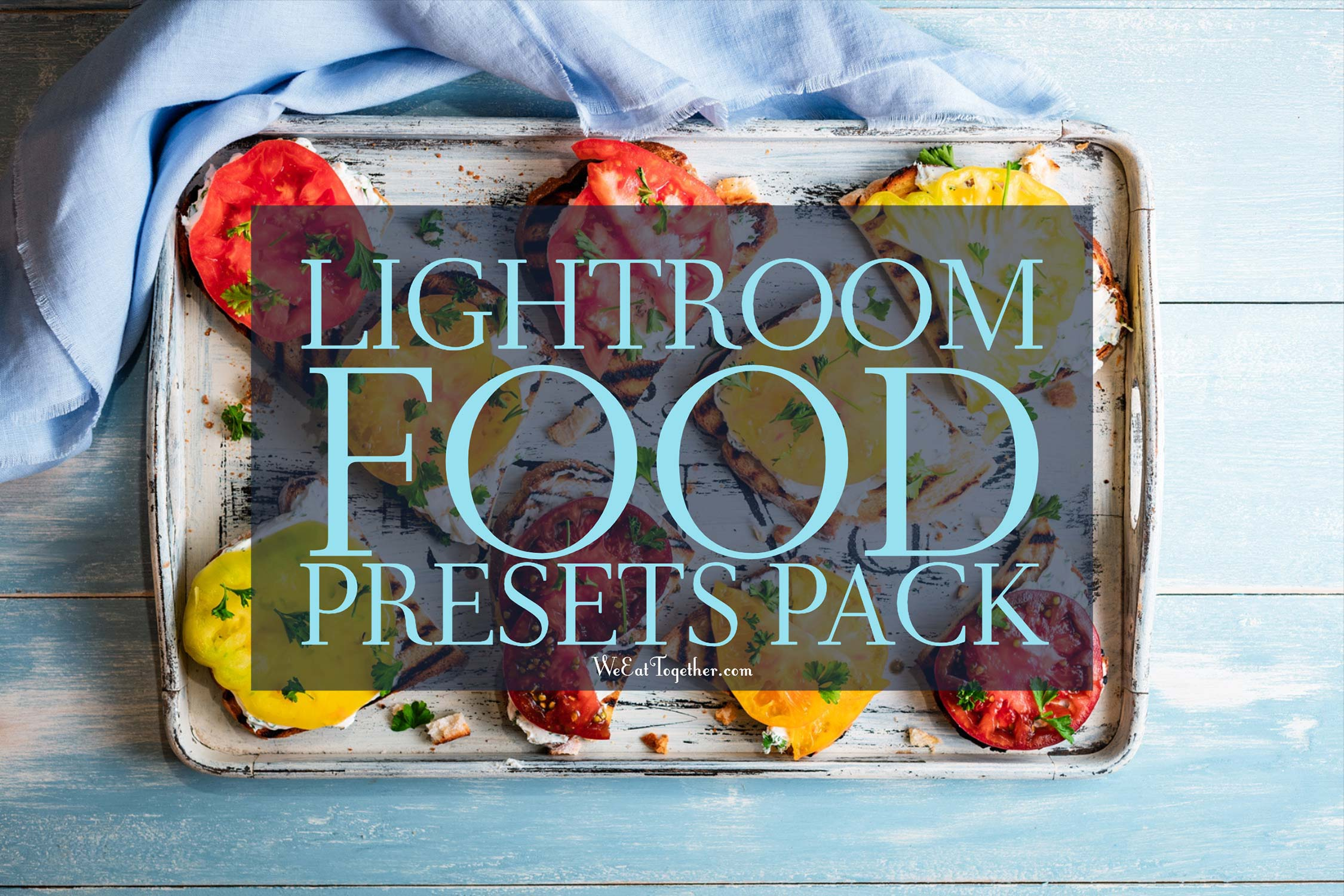 35 Lightroom Food Presets Pack