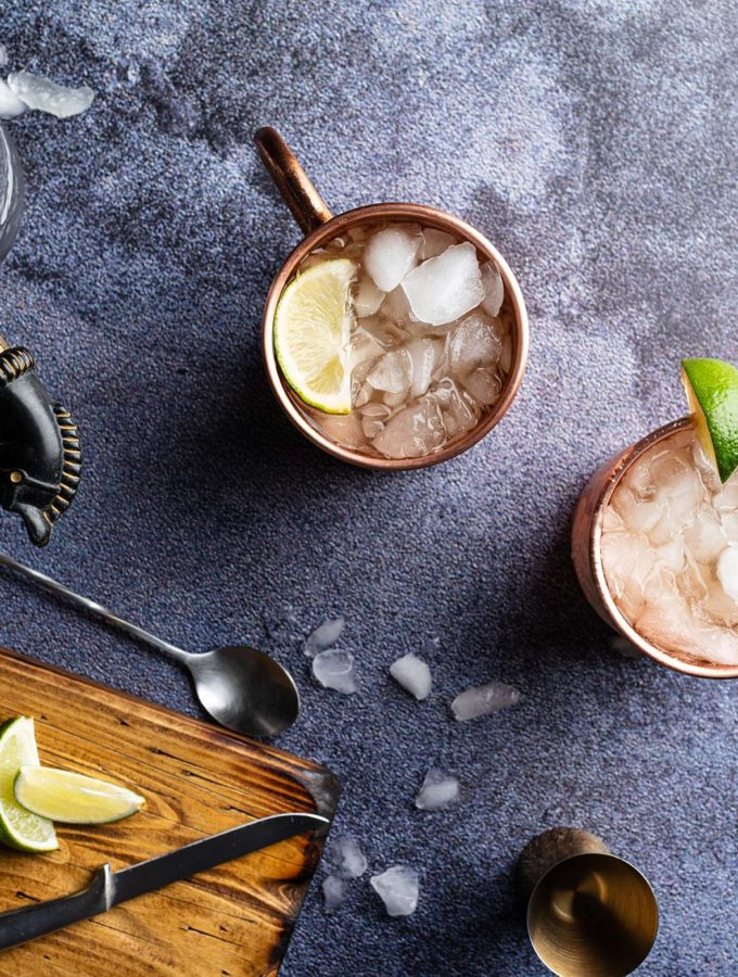 Cocktails on The Dark And Stormy WeEatTogether Food Photography Backdrop Collection