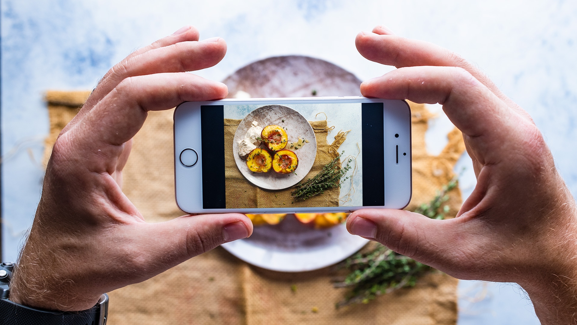 How To Shoot iPhone Food Photography like a pro