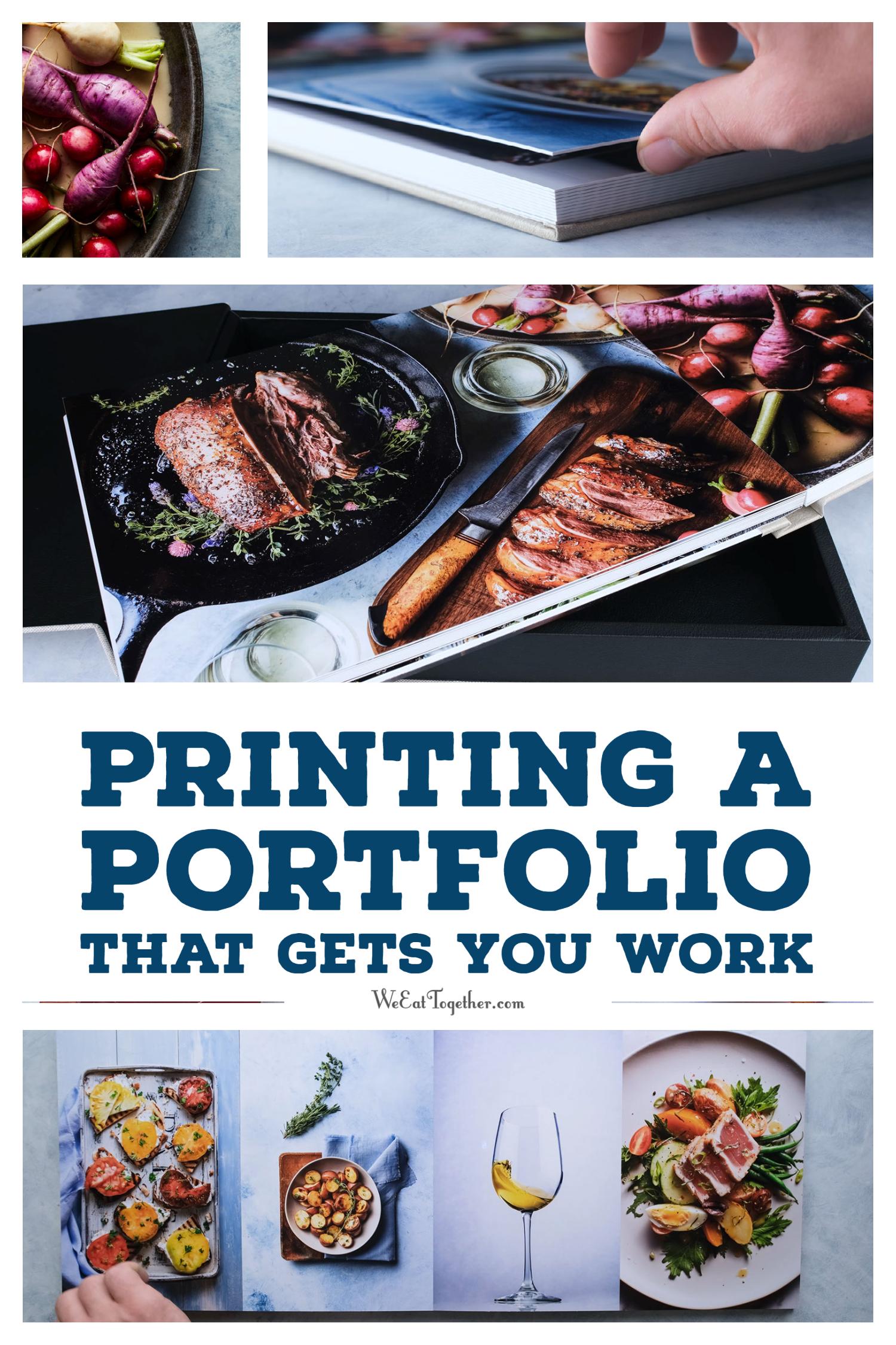 Printing A Portfolio That Gets You Work